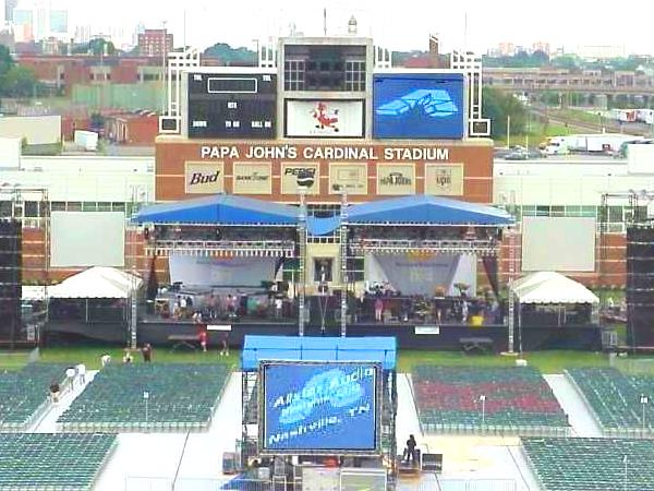 Louisville 2001 Double Stage